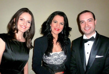 With Angela Gheorghiu, Romanian Athenaeum, April 6th 2013