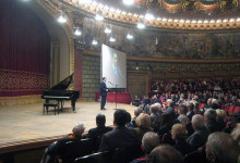 November 2010, at the Romanian Athenaeum, speaking at an event dedicated to the anticommunist demonstration from November 8th 1945