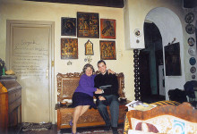 Cu Gabriela Defour-Voiculescu, 22 martie 2002