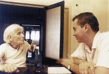 Talking to Profira Stoicescu, August 14, 2001