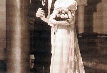 Lydia baronesse Lovendal şi Radu-Mihai Papae, la nuntă