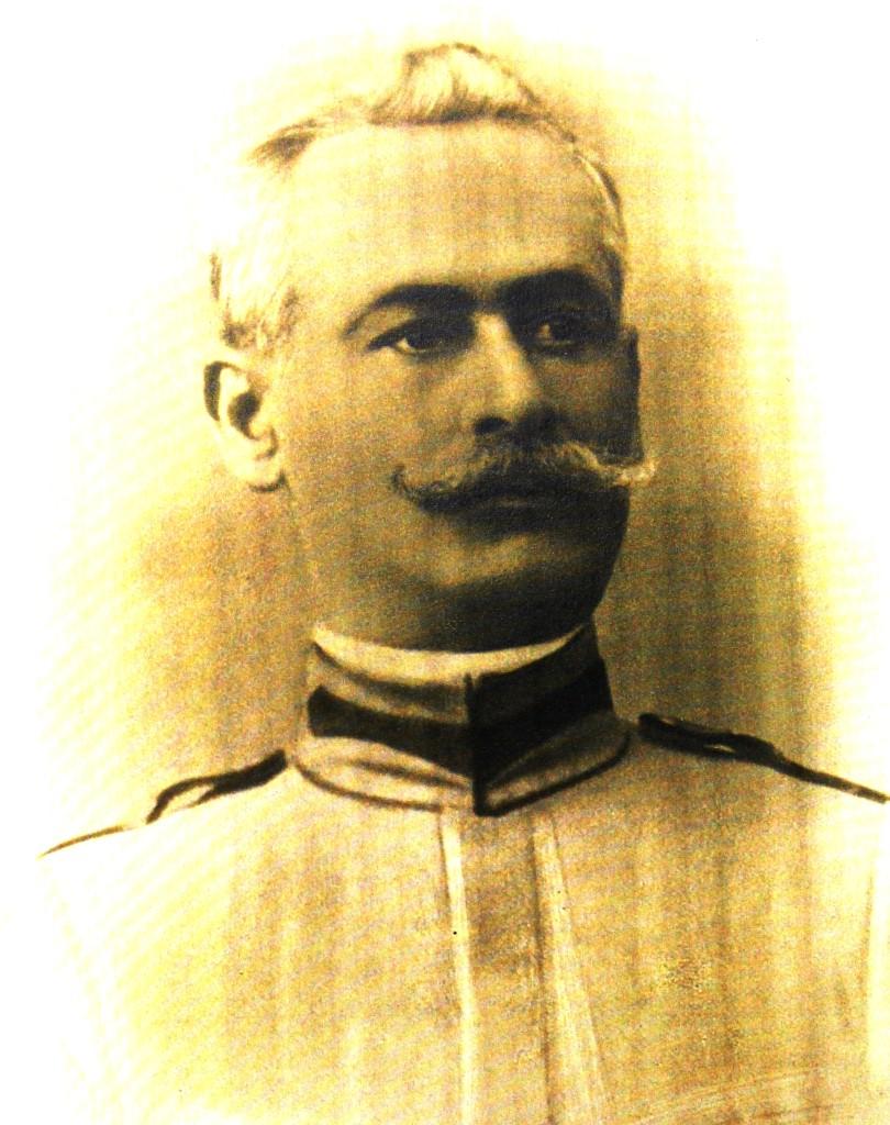 Colonelul Gheorghe Poenaru-Bordea, la varsta la care a cazut pentru eliberarea Transilvaniei (Arhiva Muzeului National al Agriculturii din Slobozia, Fondul Stoianovici)