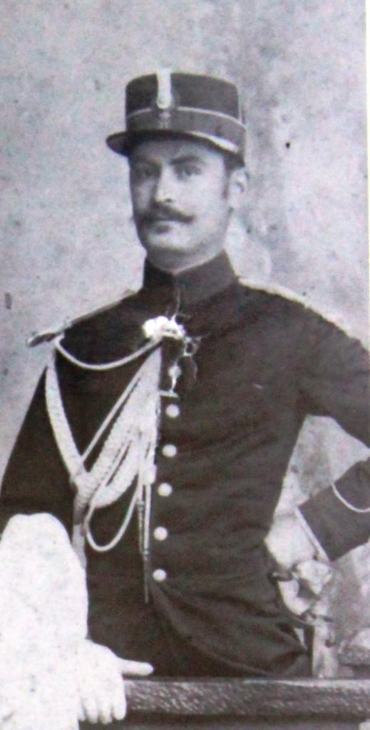 Eroul Gheorghe Poenaru-Bordea, in tinerete (Arhiva Muzeului National al Agriculturii din Slobozia, Fondul Stoianovici)