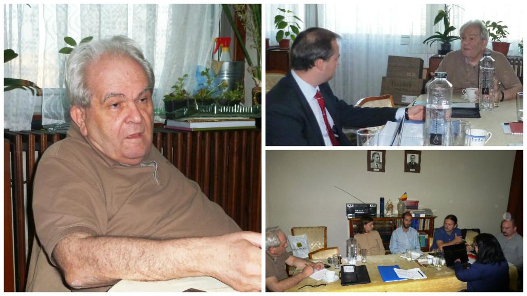 La o întâlnire a şcolii doctorale şi post-doctorale de istorie a Academiei Române, Institutul de Studii Sud-Est Europene, 1 octombrie 2014.