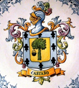 Blazonul rudelor mele castiliene, neamul Castaño.