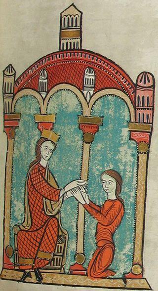 Ramon Berenguer III, conte de Barcelona (Liber Feudorum Maior).