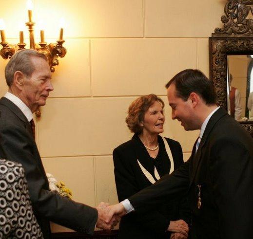 Cu Regele Mihai, 10 mai 2008, Palatul Elisabeta.